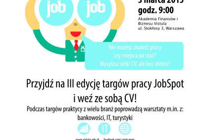 Warszawska Organizacja Turystyczna partnerem medialnym JOB SPOT 2015