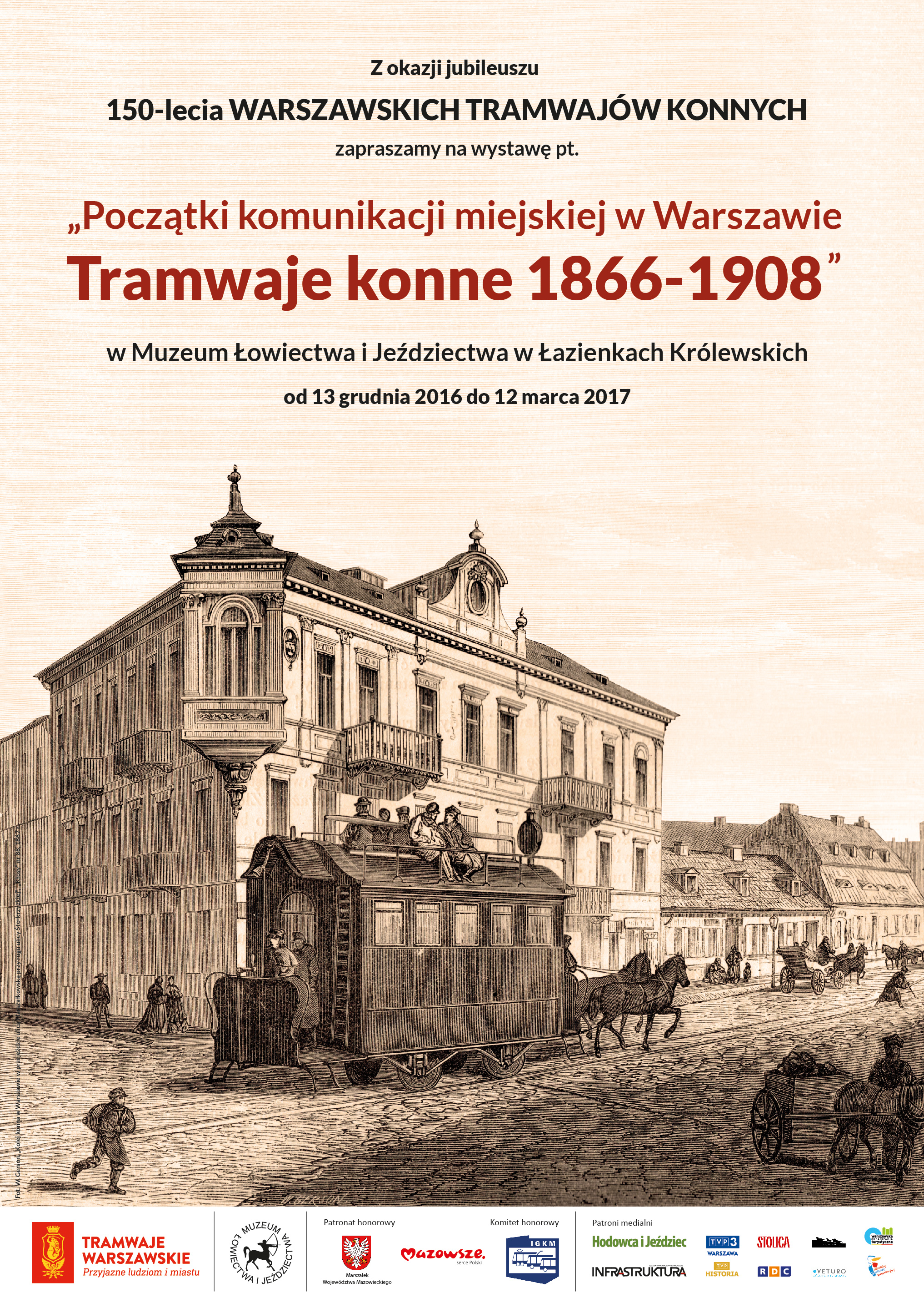 Początki komunikacji miejskiej wWarszawie