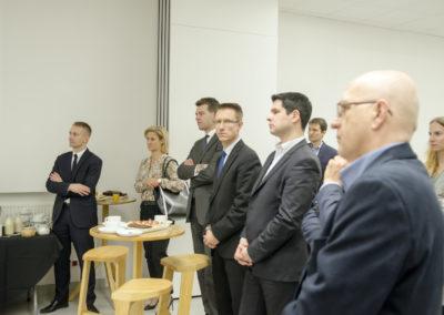 Spotkanie świąteczne członków WOT zudziałem Wiceprezydenta Warszawy Michała Olszewskiego (fot.Jarek Zuzga)