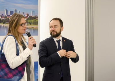 Spotkanie świąteczne członków WOT zudziałem Wiceprezydenta Warszawy Michała Olszewskiego