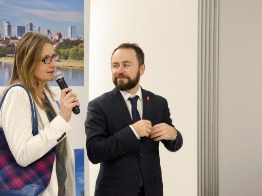 Spotkanie świąteczne członków WOT z udziałem Wiceprezydenta Warszawy Michała Olszewskiego