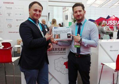 Warsaw Convention Bureau na targach IMEX Frankfurt 2018