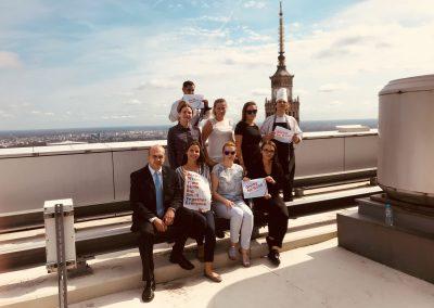 Miesiąc pomagania w hotelu InterContinental Warszawa
