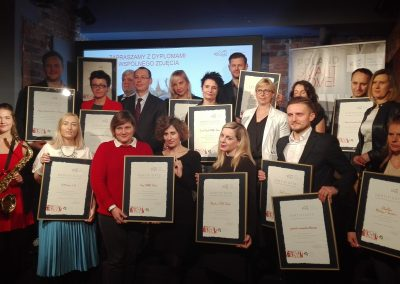 Certyfikat rekomendacji dla Warsaw Convention Bureau