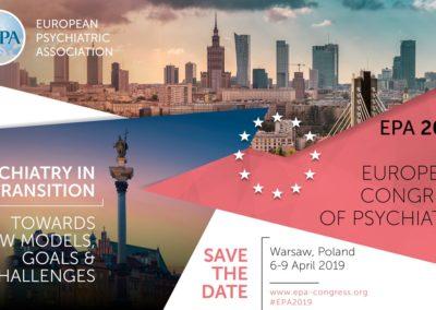Europejski Kongres Psychiatrii EPA wWarszawie