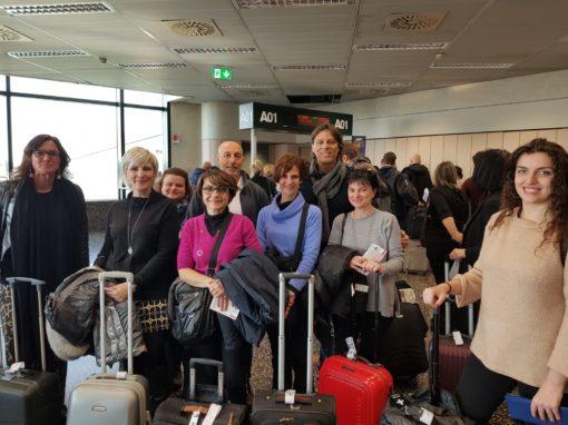 Wizyta studyjna agentów z Włoch