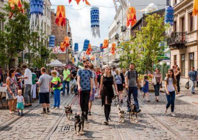 """Multimedialny przewodnik  """"Praga odNova – historyczna moc atrakcji turystycznych warszawskiej Pragi"""""""