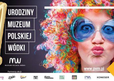 Pierwsze urodziny Muzeum Polskiej Wódki