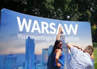 Dzień Polski wogrodach Ambasady RP wPradze