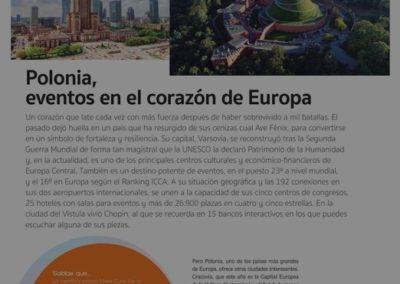 Warszawa na łamach hiszpańskiego Eventos Plus