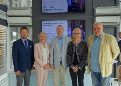 Porozumienie natemat współpracy Warszawy iMazowsza – briefing prasowy