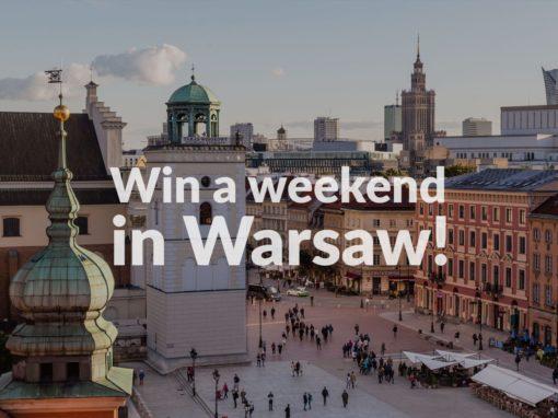 "Konkurs ""Win a weekend in Warsaw"" rozstrzygnięty!"