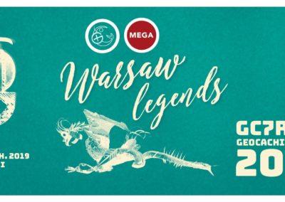 Geocaching Party 2019 – Warszawskie Legendy