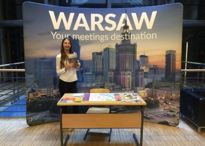 Warszawa naXVIII Kongresie Europejskich Mykologów