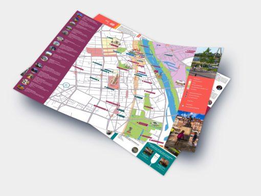 """Mapa """"Best of Warsaw City Tours"""" w hotelach członkowskich WOT"""