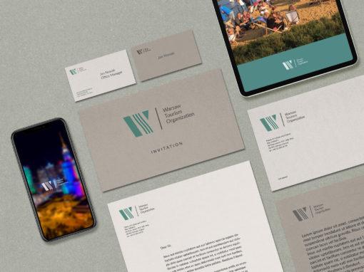 Nowe logo Warszawskiej Organizacji Turystycznej