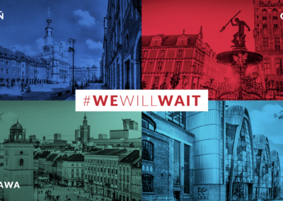 Wobliczu kryzysu cztery miasta jednoczą siły podwspólnym hasłem #CityWillWait