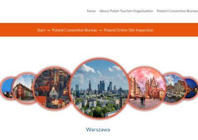 Członkowie WOT wmateriale promocyjnym Polskiej Organizacji Turystycznej