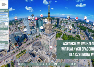 Program wsparcia WOT wtworzeniu wirtualnego zwiedzania