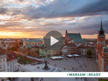 Spot promocyjny #WarsawIsReady