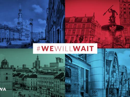 Kampania #CityWillWait wyróżniona wKonkursie Dobrych Praktyk