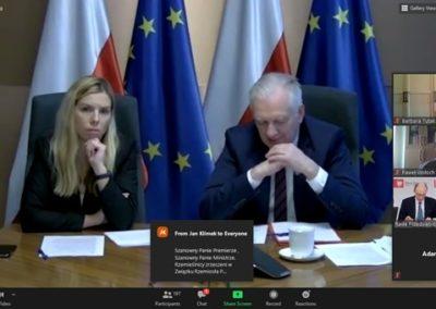 Spotkanie zWicepremierem Gowinem ws. wsparcia dla przedsiębiorców