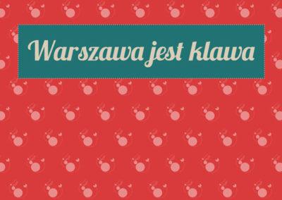 Warszawa jest klawa – konkurs dla uczniów klas IV-VII szkół podstawowych