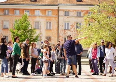 Turystyka wWarszawie wII kwartale 2020 r.